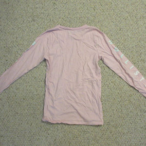 Hollister Pink Cotton Long Sleeve - Sz XS
